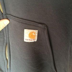 Carhardtt Mens Zip-Up Sweatshirt w/ Hood 2XL
